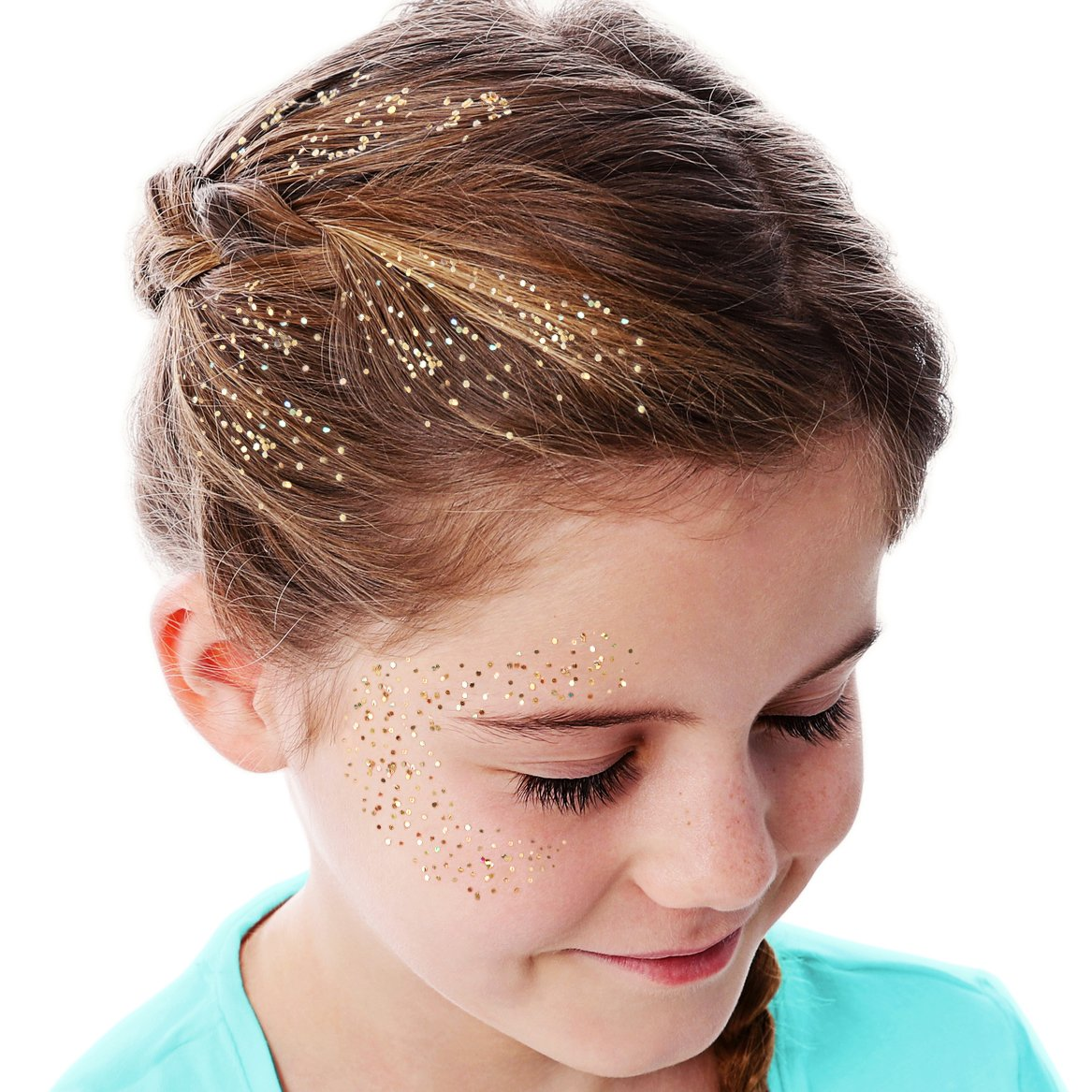 GirlZone GIFTS FOR GIRLS: Face, Hair & Body Cosmetic Glitter Makeup. Great Gift, Birthday Present Idea For Girls 4 5 6 7 8 9 10 years old plus. by GirlZone (Image #9)