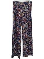 Women's High Waist Slinky Stretchy Palazzo Pants