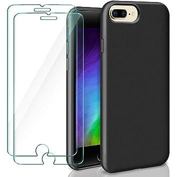 9f6881a183d ivencase iPhone 7 Funda, iPhone 8 Funda + [2 Pack] Cristal Templado  Protector