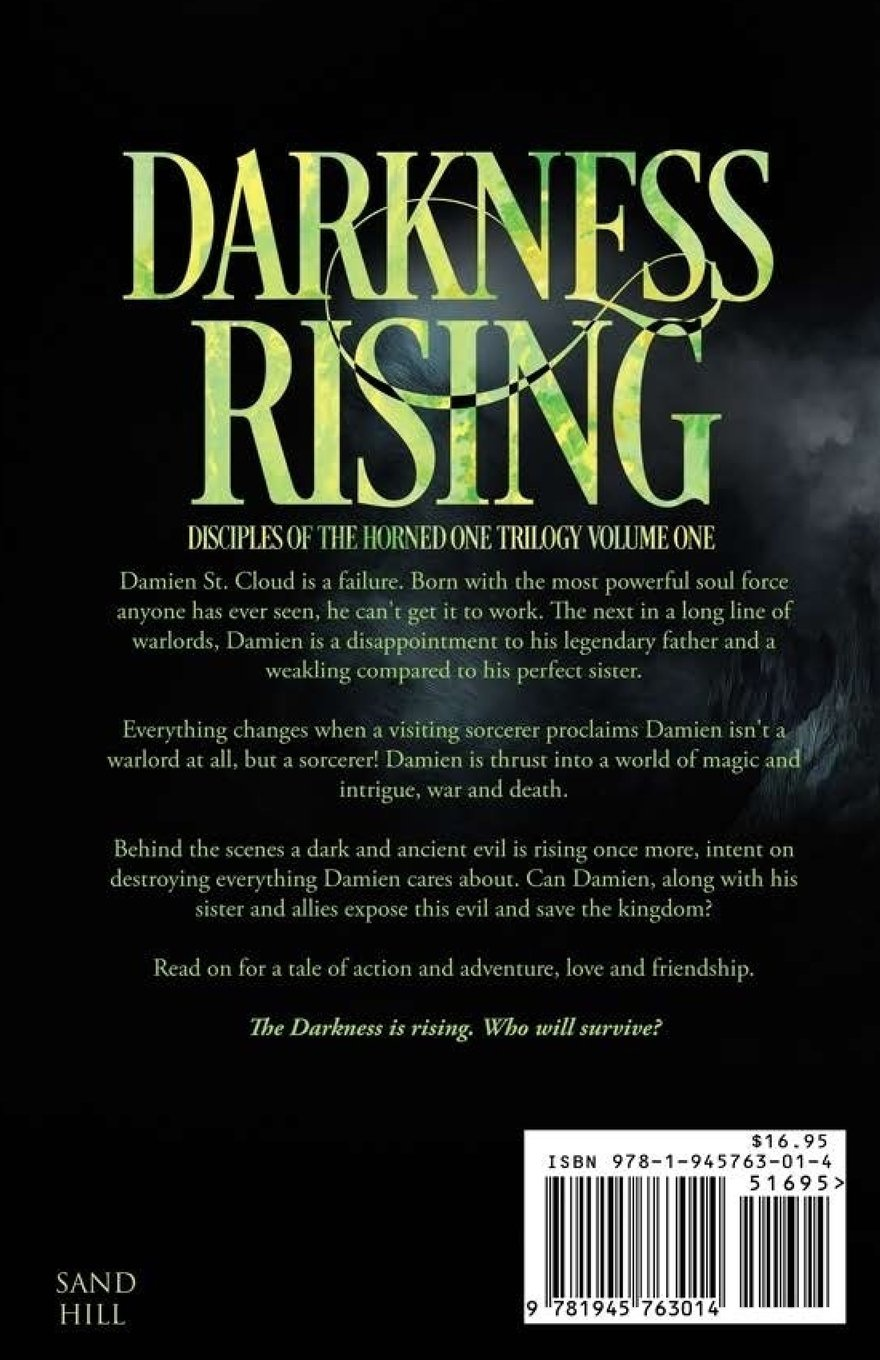 Darkness Rising: Disciples Of The Horned One Volume One (soul Force Saga)  (volume 1): James E Wisher: 9781945763014: Amazon: Books