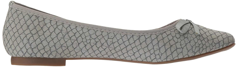 Callisto Women's Barnett Ballet Flat Croc B01N55Z083 9 B(M) US|Grey Croc Flat 134754