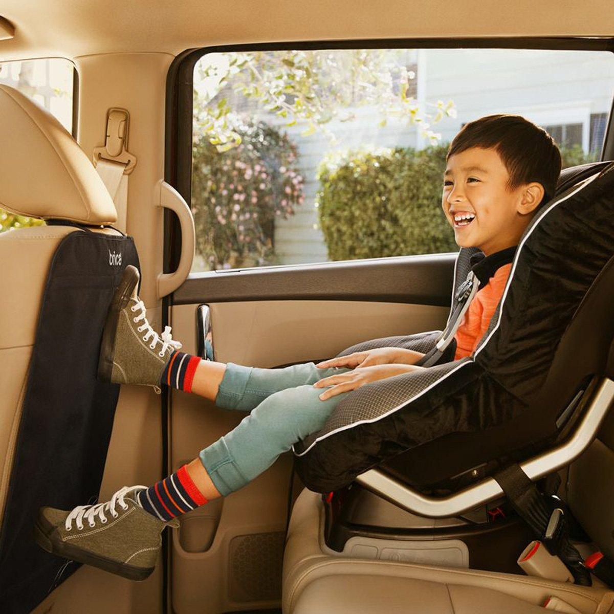 BRICA Deluxe Car Seat Kick Mats Pack of 2