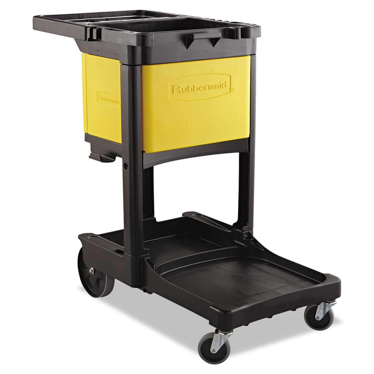 Rubbermaid Commercial Locking Cabinet, For Use With RCP Cleaning Carts - Includes one each.