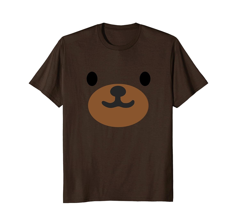 Bear Face Halloween Costume Shirt Cute for Kids Men Women-AZP