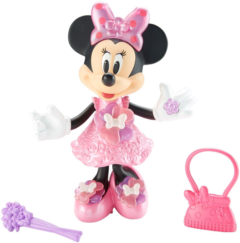 Amazon.com: Fisher-Price Disney Minnie, Bloomin\' Bows Minnie: Toys ...