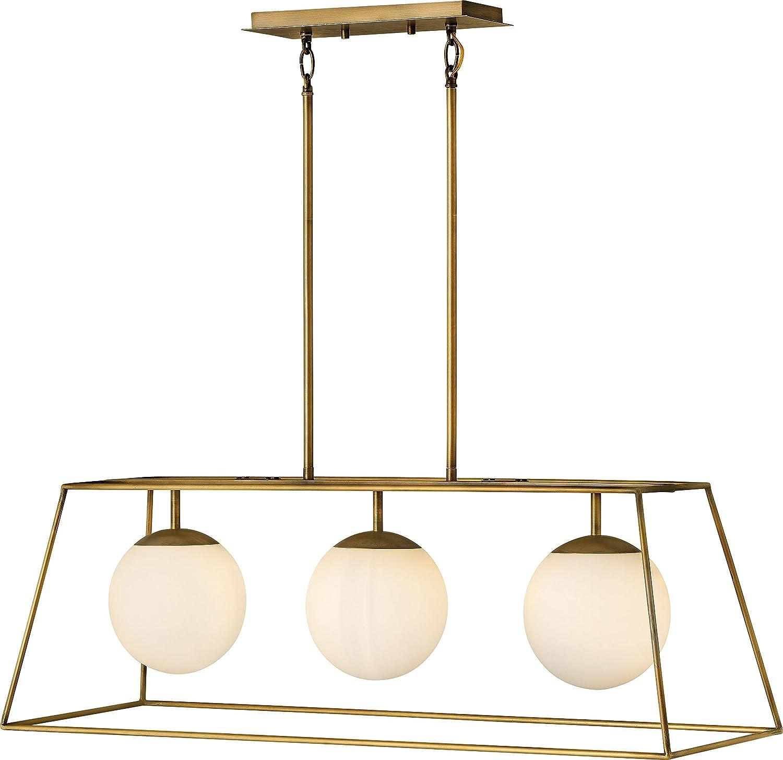 Amazon.com: Hinkley 4376HB Jonas Pendant, 3-Light 300 Total ...