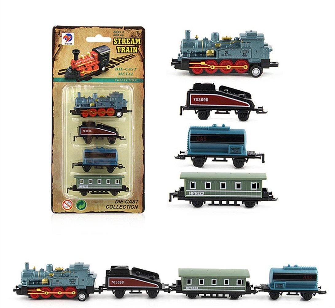 Christmas Train Cast.Venmo Clockwork Wind Up Tin Train Toys Car Kids Christmas