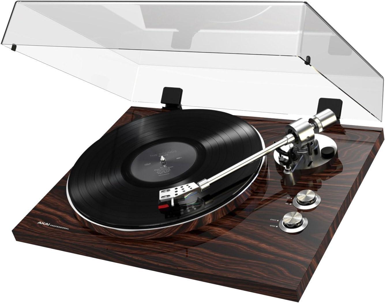 Akai Pro BT-500 - Tocadiscos de correa de calidad Premium para reproducción y conversión de vinilos