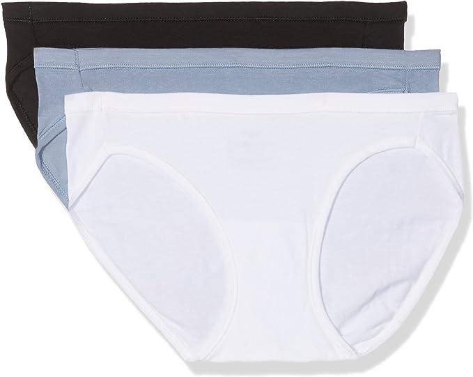 Hanes Aq004qq Culotte, Blanco (Bianco 05m), 32 (Talla del Fabricante: Small) (Pack de 3) para Mujer: Amazon.es: Ropa y accesorios