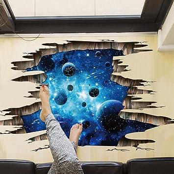3d Kreativ Wandaufkleber Sternenhimmel Und Meer Aufkleber