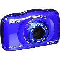 Câmera Nikon À Prova D'água Wifi Coolpix W150 Azul