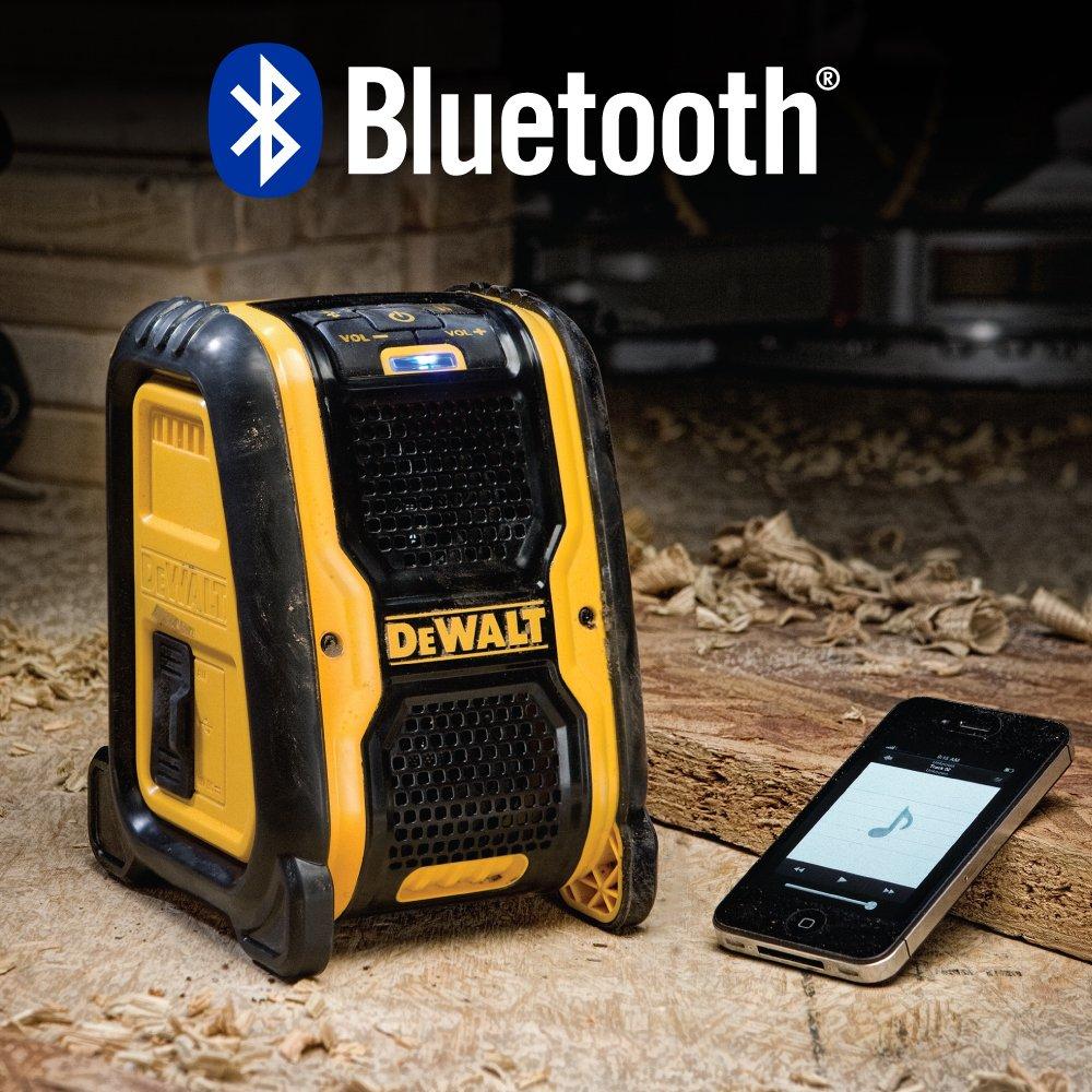 DEWALT DCR006 Jobsite Bluetooth Speaker by DEWALT (Image #4)