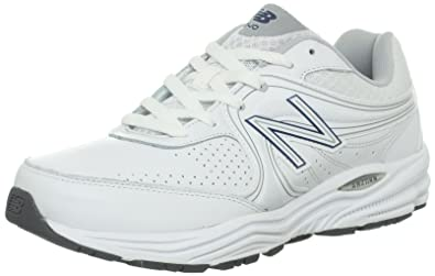 New Balance Men's MW840 Health Walking Shoe,White,7