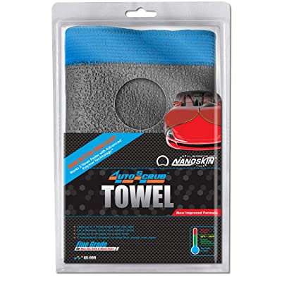 "Nanoskin 12 Inch x 12 Inch AUTOSCRUB 12"" x 12"" Fine Grade Towel [AS-009]: Automotive"
