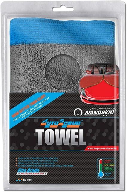 FINE GRADE AS-009  *** SUPER FAST SHIPPING NANOSKIN AUTOSCRUB Clay Towel