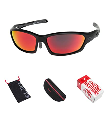 0b0eb11b8b681 Image Unavailable. Image not available for. Color  Polarized Sports  Sunglasses for Men Women Cycling Running Driving Fishing Golf Baseball  Glasses EG6012