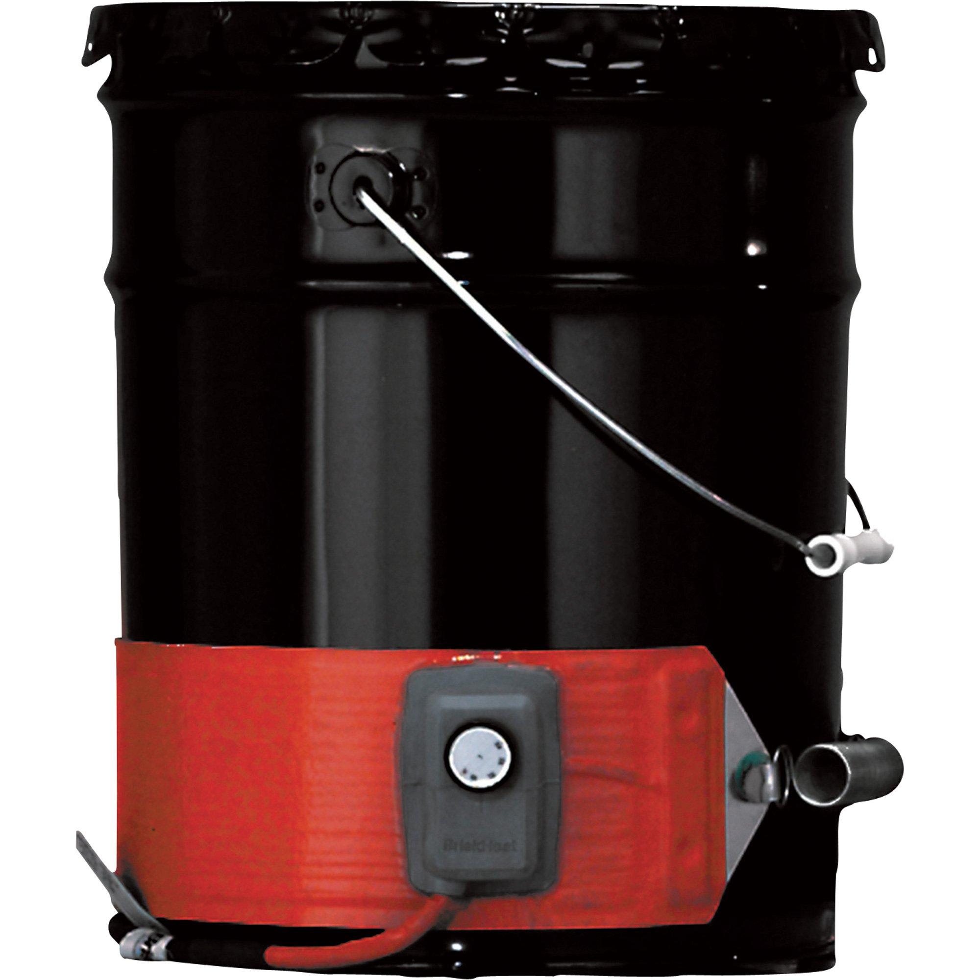 BriskHeat Metal Drum Heater - 5-Gallon, 550 Watt, 120 Volt, Model# DHCS10 by BriskHeat (Image #1)