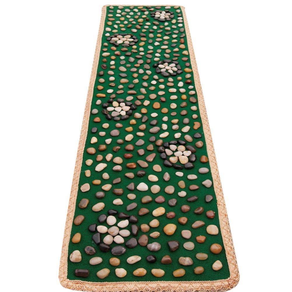 Healthcare Walkway Real Pebbles Cobblestone Reflexology Massage Mat Yoga Mat Walkway Reflexology Health Care Pad (WZ-06) Ltd.