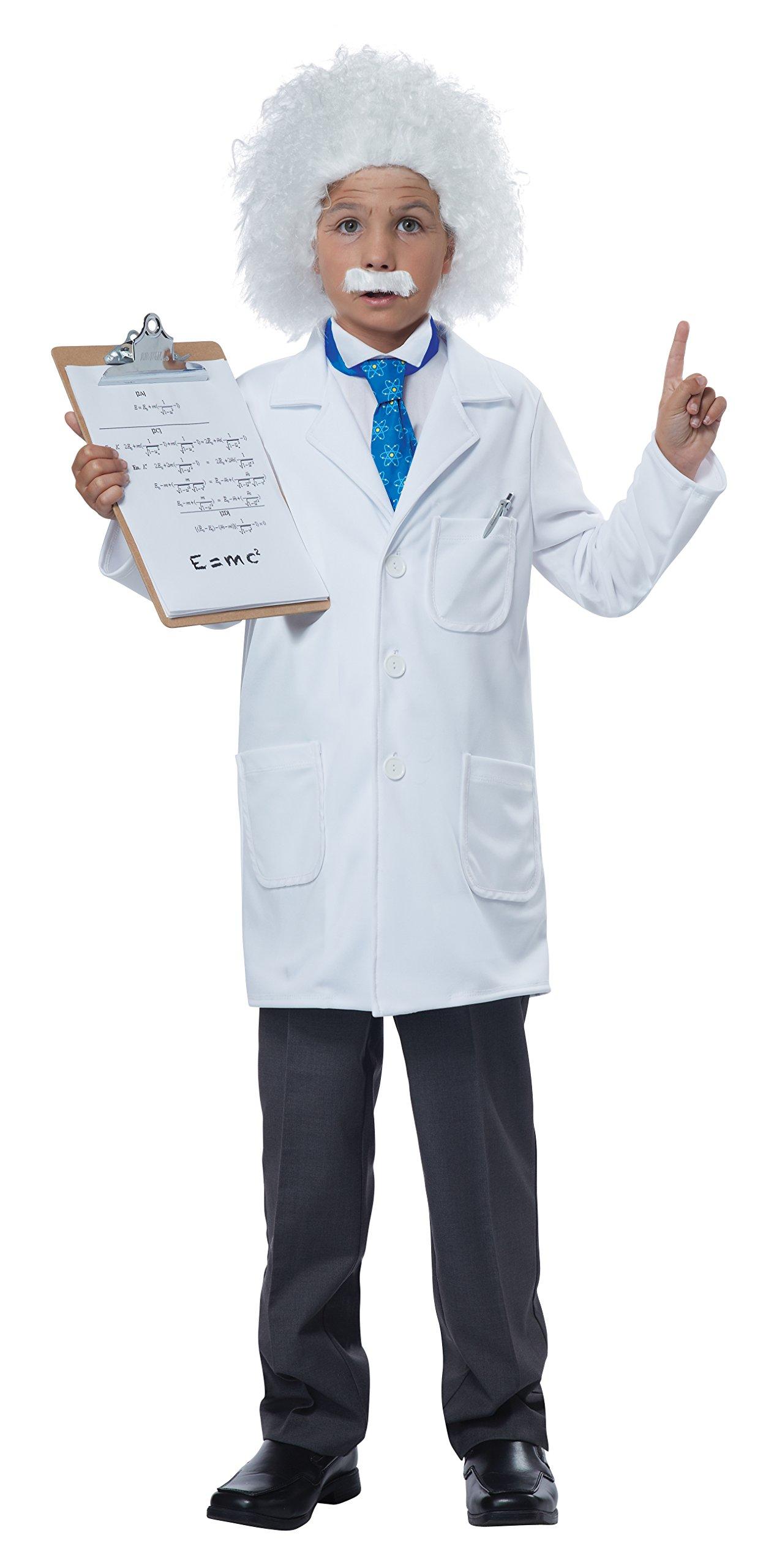 California Costumes Albert Einstein/Physicist Costume, X-Large, White/Blue by California Costumes