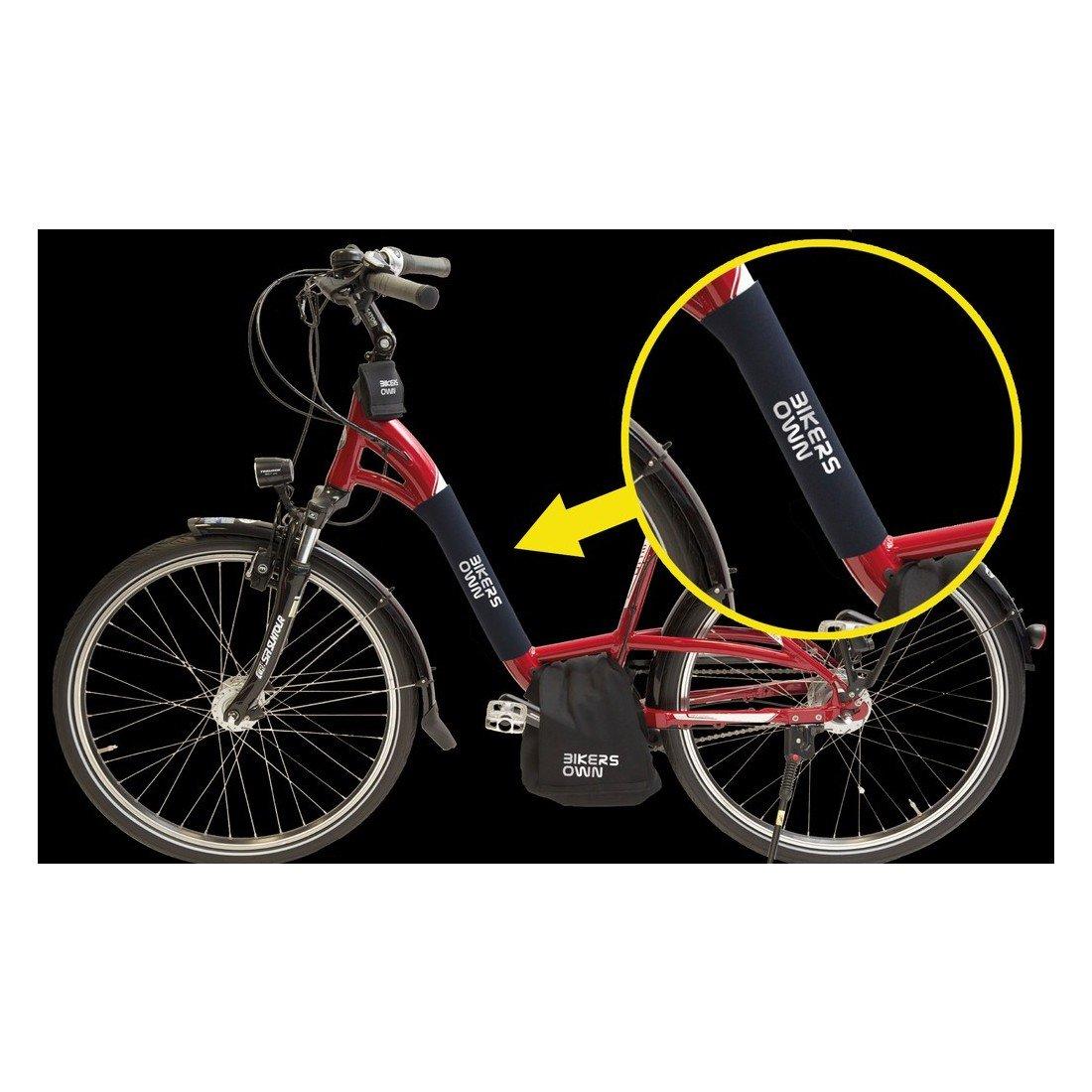 BIKERSOWN Bike rsown case4rain 08868/Cadre de Transport Protection cha/îne Protections One Size Noir