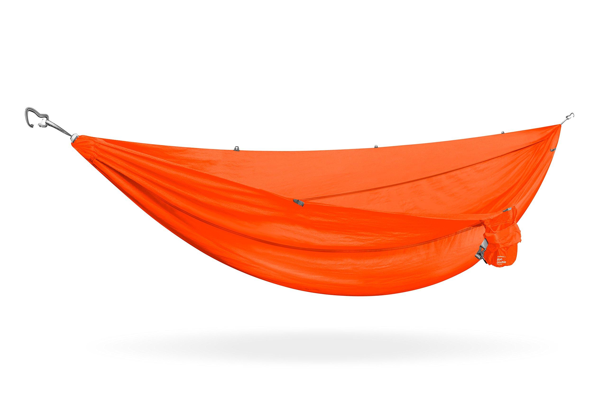 KAMMOK Roo Double Camping Hammock - Ember Orange by KAMMOK
