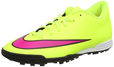 the latest 5eef7 fbe93 Nike Mercurial Vortex II TF, Chaussures de Football pour Homme Volt-Hyper  Pink-