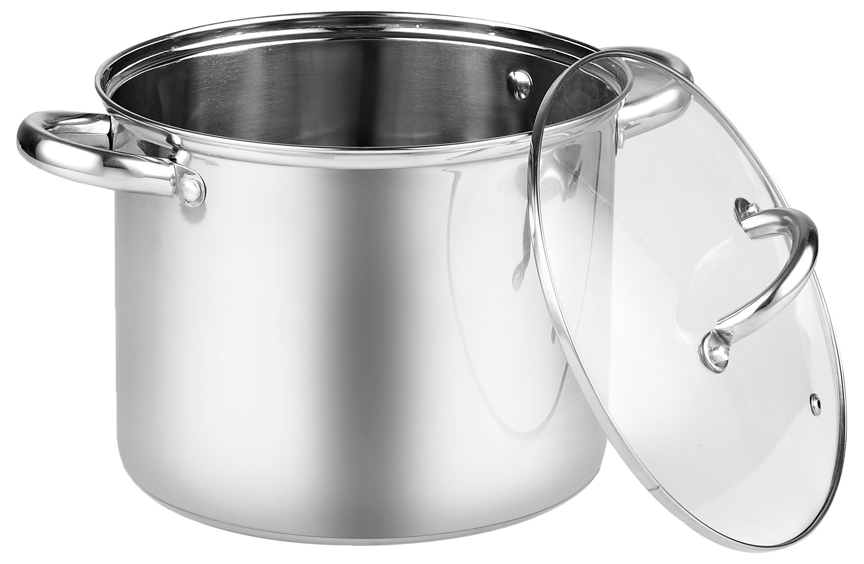 Cook N Home 8 Quart Stainless Steel Stockpot with Lid by Cook N Home (Image #1)
