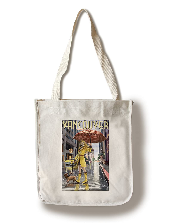 カウくる Rain Girl Pinup – Canvas バンクーバー B01841URPY、BC 11 x Bag 14 Matted Art Print LANT-44563-11x14M B01841URPY Canvas Tote Bag Canvas Tote Bag, 八千穂村:99481e9b --- mcrisartesanato.com.br