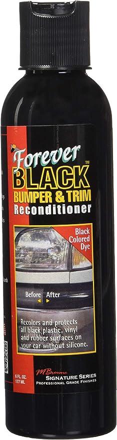 NEW Improved Formula /& Larger Size Forever Black Bumper /& Trim Kit