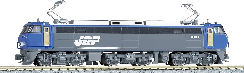 Kato 3036-1 Ef200 Hi Tech Bo-Bo-Bo Electric Locomotive
