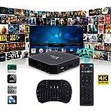 Cewaal X96 Mini Android 7.1 Amlogic S905W 2GB + 16GB Quad core WiFi HD 4Kx2K Smart TV Box Media Player con I8 tastiera perfetta per l'intrattenimento domestico