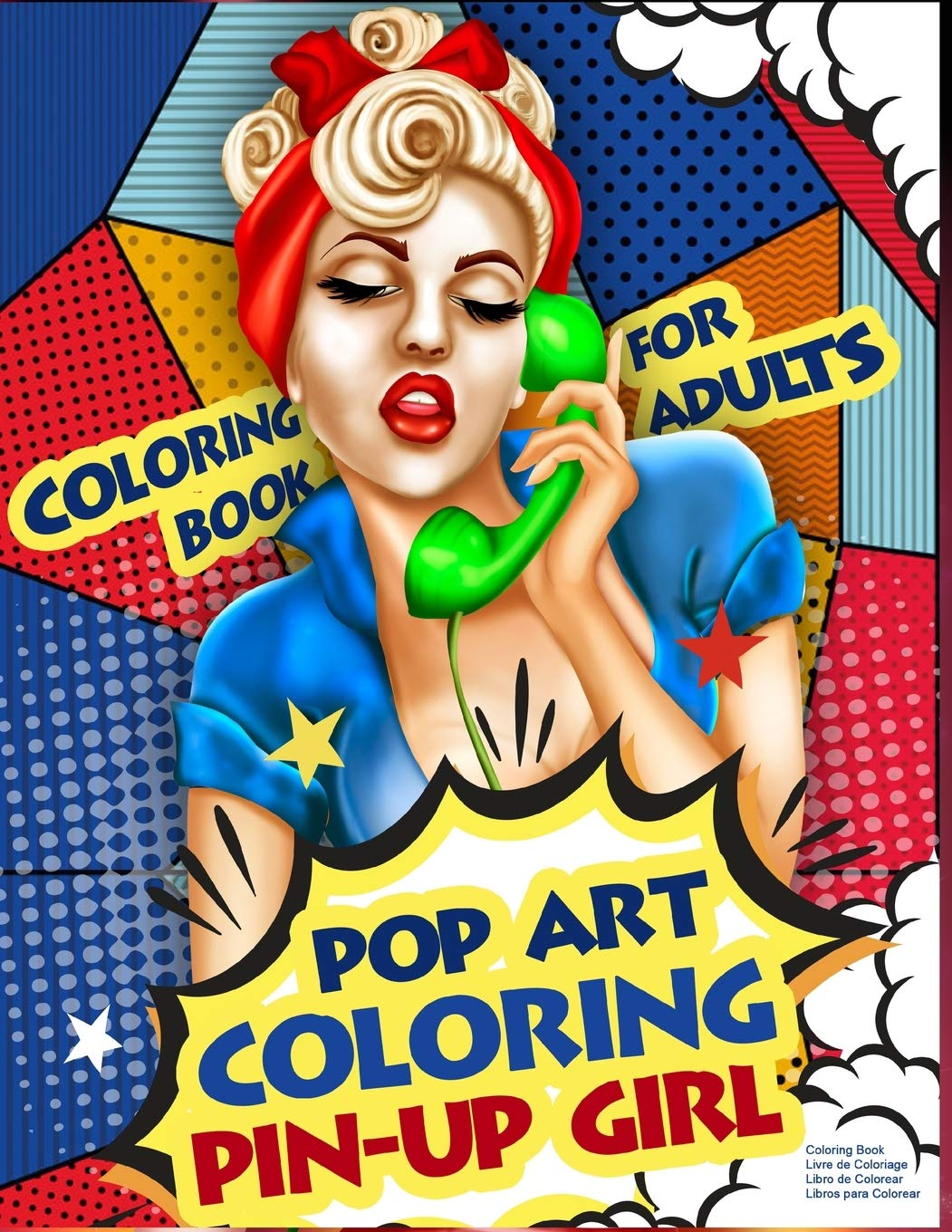 - Amazon.com: Coloring Book For Adults Pop Art Coloring Pin-Up