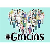 Oedim Bandera de Lona con el Hashtag #Gracias