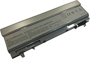 New GHU Battery 87 WHR Replacement for KY265 PT434 4M529 KY477 4N369 312-0748 312-0749 W0X4F W1193 KY265 KY477 4M529 4N369 FU268 Compatible for Dell Latitude Laptop E6400 E6410 E6510 E6500