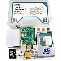 LANDZO Raspberry Pi 3 Model B kit ( Pi 3 Board + Case +Power Supply+Memory Card +Heat Sink)
