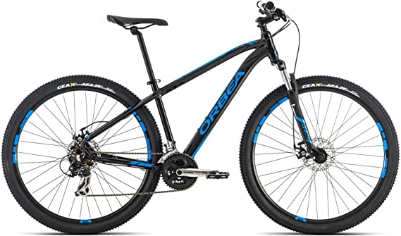 Bicicleta Montaña Orbea MX 50, 29 pulgadas, talla L, negro: Amazon ...