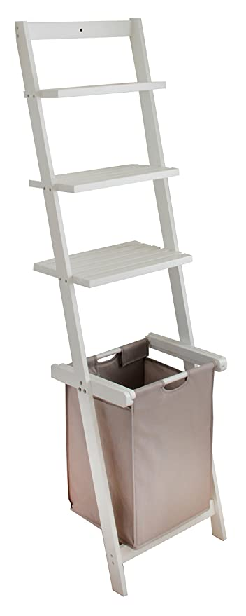 bonVIVO® Leiterregal VIVIENNE, vielseitiges Badezimmer-Regal mit ...