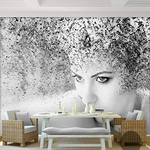Tpfei Custom Photo Wallpaper Modern Fashion Black White