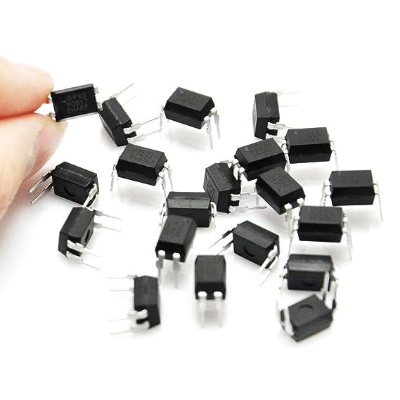 Gikfun OPTOCOUPLER DIP-4 PC817C PC817 for Arduino Diy AE1143 Pack of 20pcs