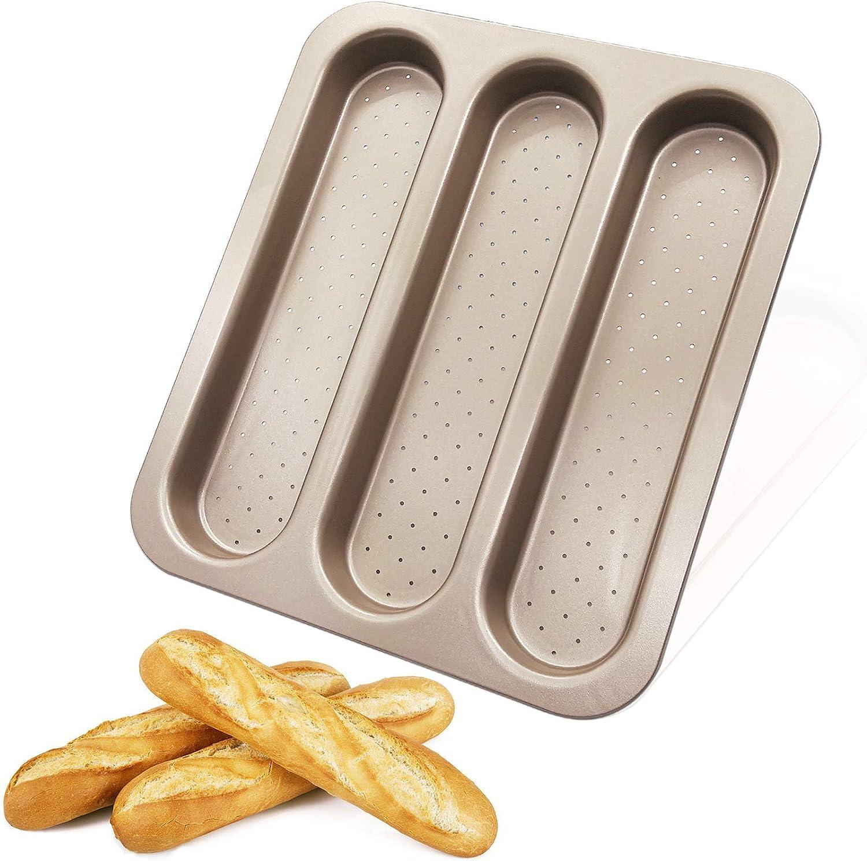 Molde antiadherente para baguettes por sólo 18,19€ con el #código: I6FOPKIQ