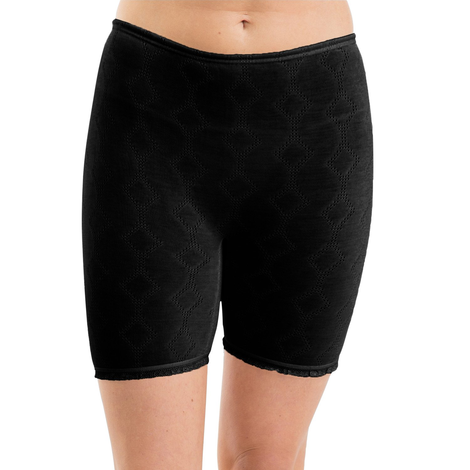 ETHO 2 Pack Womens/Ladies Thermal Underwear Jacquard Thermal Panties Poly/Viscose Various Colours & Sizes