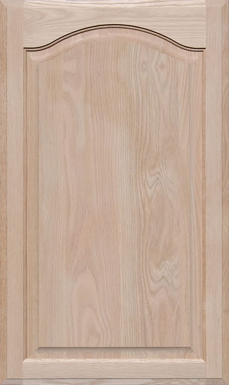 Unfinished Oak Arch Top Cabinet Door by Kendor, 32H x 19W Kendor Wood Inc.