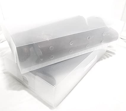 4 Pack Long Boot Transparent Plastic Shoe Storage Clear Boxes Container for Shoes Closet Organizer  sc 1 st  Amazon.com & Amazon.com: 4 Pack Long Boot Transparent Plastic Shoe Storage Clear ...