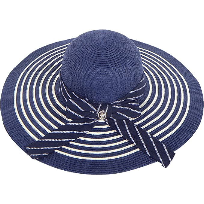 1e39147dc0a Amazon.com  HAIPENG cap Women s Sun Hats Wide Brim Sun Protection Straw Hat  Chin Strap Collapsible Summer Travel Vacation