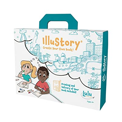 Lulu Jr. Illustory Book Making Kit, Multicolor: Toys & Games