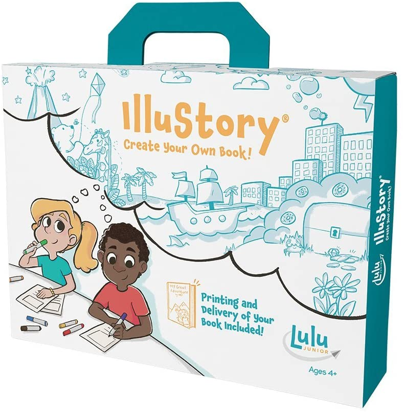 Lulu Jr. Illustory Book Making Kit, Multicolor