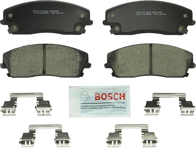 Amazon.com: Bosch BC1056 QuietCast Premium Ceramic Disc Brake Pad Set For: Chrysler 300; Dodge Challenger, Charger, Magnum, Front: Automotive