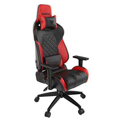 Astounding Gamdias Achilles E1 Gaming Chair Customizable Rgb Back Light With Leather Style Vinyl Seat Tilt With Adjustable Back Angle 2D Adjustable Armrest Machost Co Dining Chair Design Ideas Machostcouk