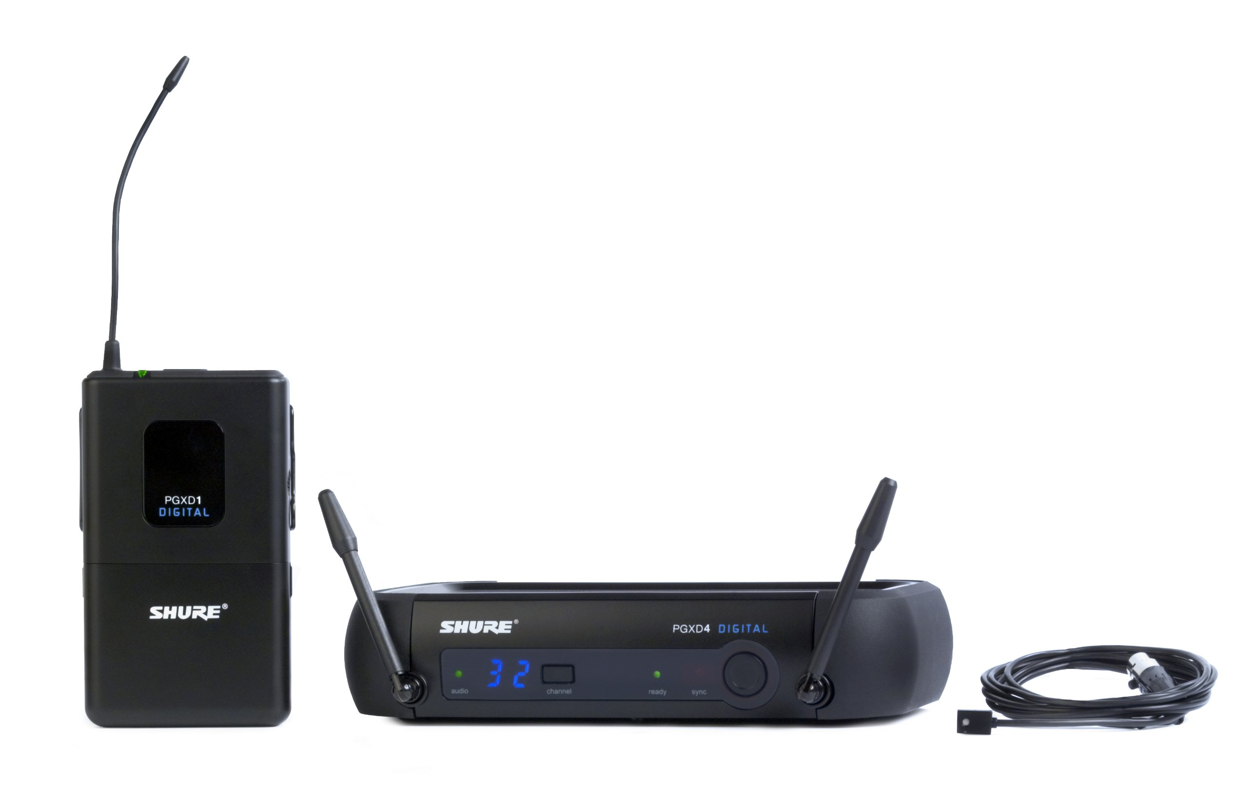 Shure PGXD14/93-X8 Digital Lavalier Wireless System with WL93 Lavalier Microphone by Shure