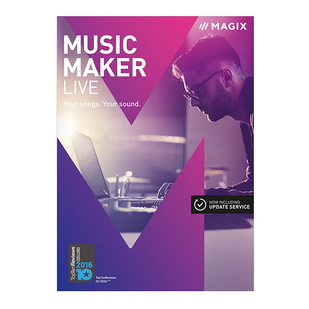 front facing magix music maker 2017 live